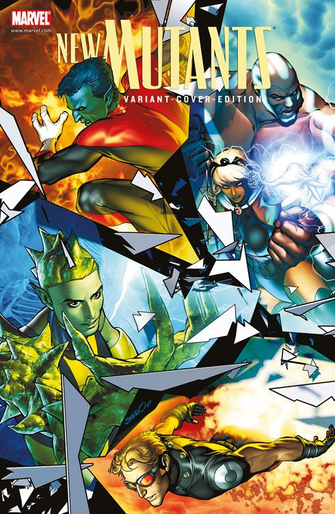 X-Men Sonderband: New Mutants 2 Variant