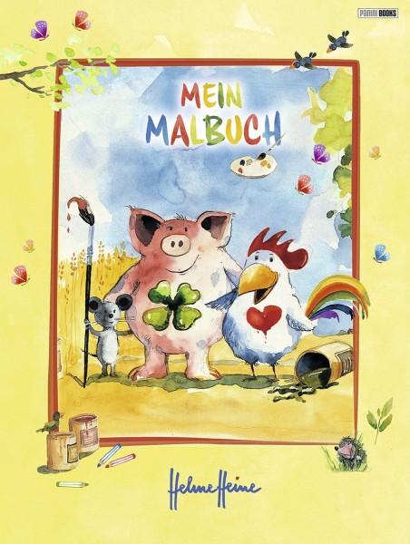 Helme Heine - Mein Malbuch