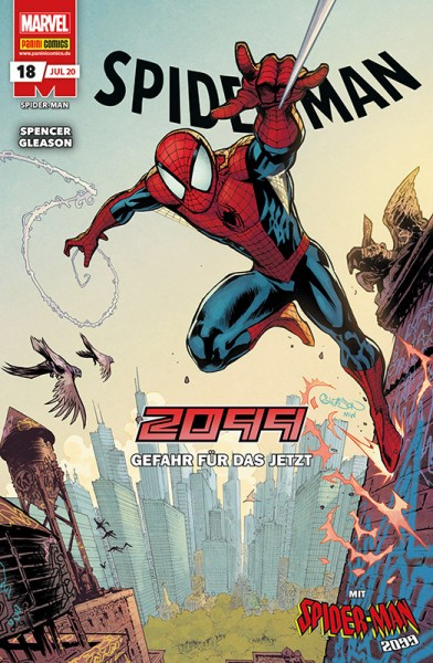 Spider-Man 18 Cover