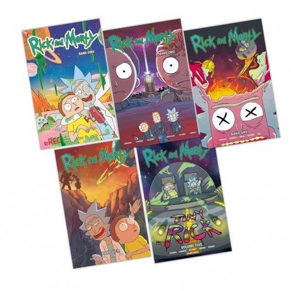 Rick and Morty Comic-Bundle