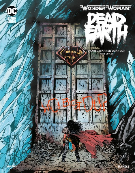 Wonder Woman - Dead Earth 3 Cover