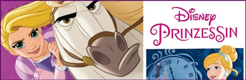 Disney Prinzessin: Das Herz einer Prinzessin Sticker und Trading Cards Banner