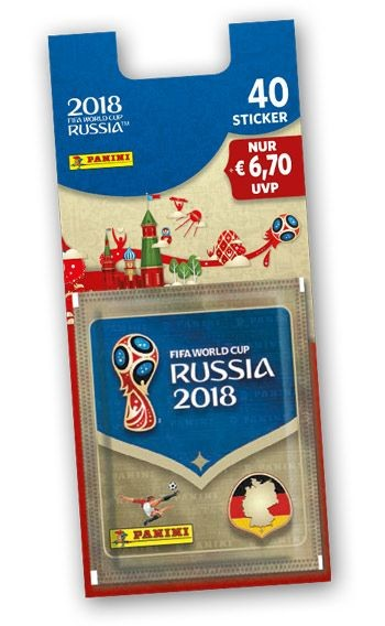 2018 FIFA World Cup Russia Stickerkollektion – Blister 1