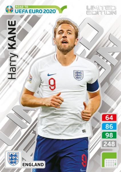 Road To UEFA Euro 2020 Adrenalyn XL - LE-Card Harry Kane/Eng