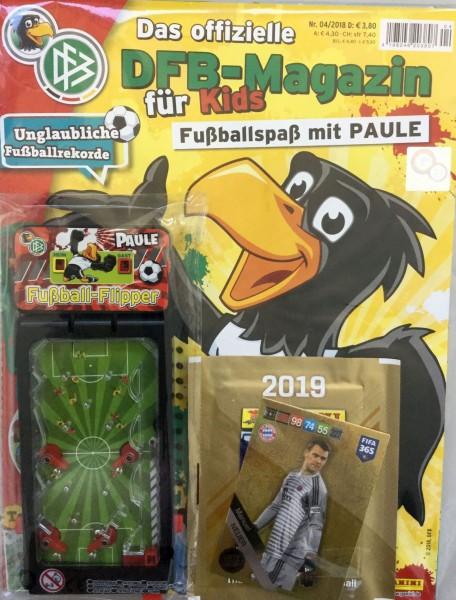 DFB-Fussballspaß mit Paule 04/18