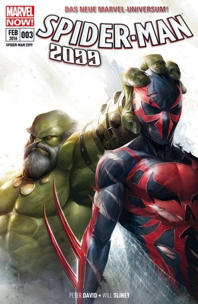 Spider-Man 2099 Sonderband 3