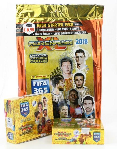 Panini FIFA 365 2018 Adrenalyn XL Trading Cards - Mega-Bundle 1