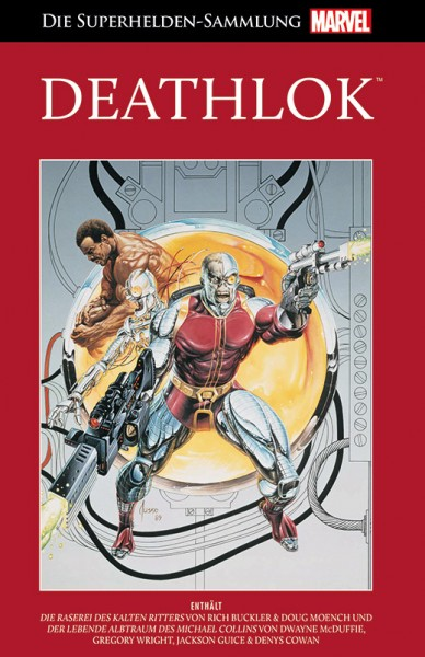 Die Marvel Superhelden Sammlung  92 Deathlok Cover