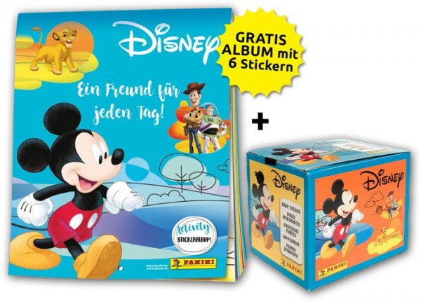 Disney - Mix Stickerkollektion – Sticker-Starter-Bundle