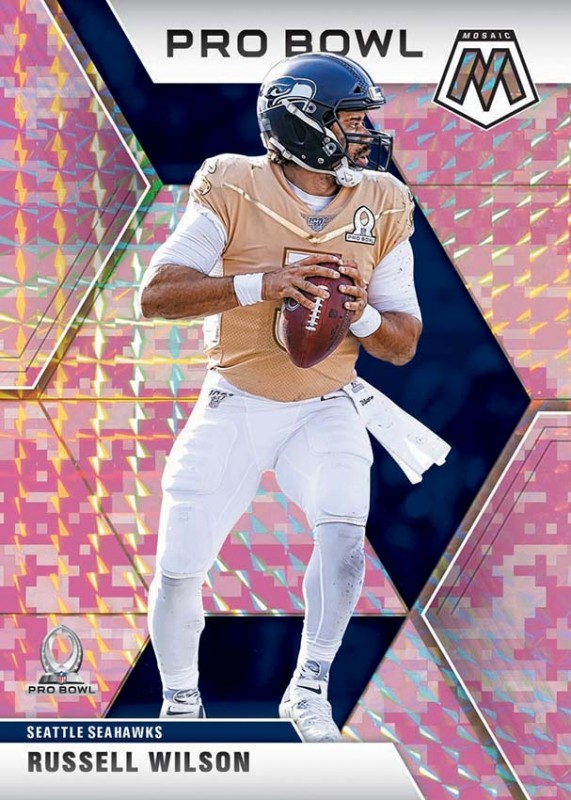 NFL Mosaic 2020 Trading Cards - Russell Wilson