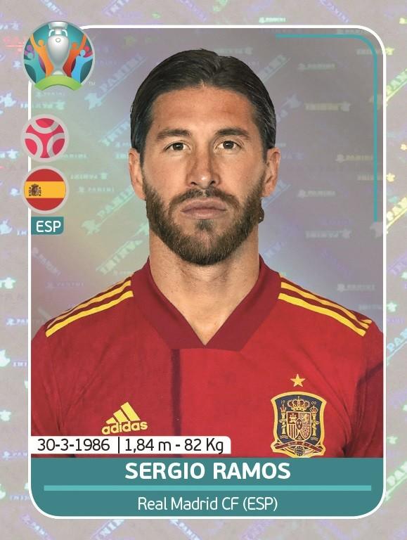 UEFA EURO 2020 Official Sticker Preview Collection - Sergio Ramos