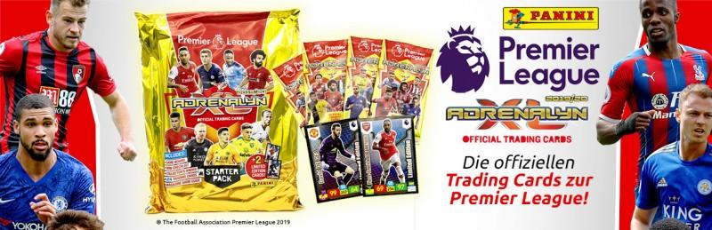 Die offiziellen Trading Cards zur Premier League!