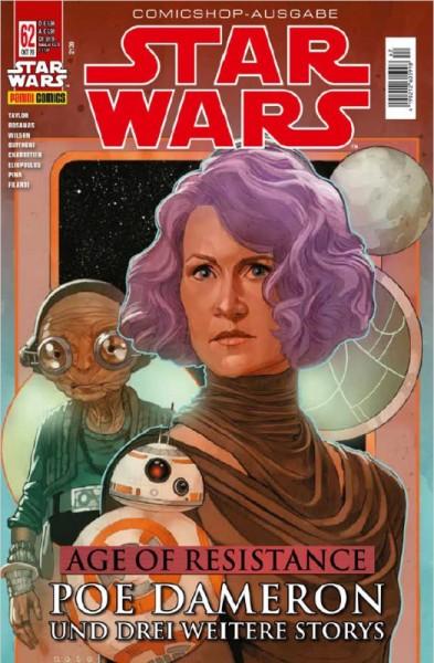 Star Wars 62: Age of Resistance - Poe Dameron & Special - Comicshop-Ausgabe Cover