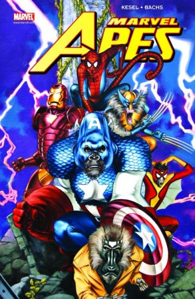 Marvel Apes - Comic Action 2009