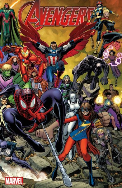 Avengers 30 (2016) Comic Action Essen 2018 Variant