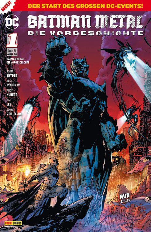 Batman Metal: Die Vorgeschichte 1