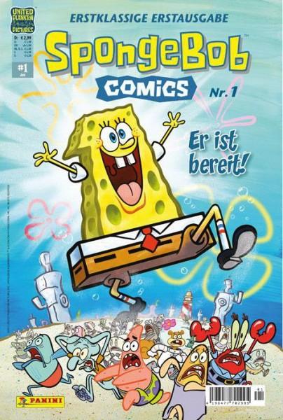 Spongebob Comics 1