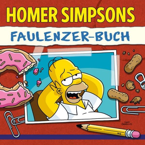 Sammelsurium der Simpsonologie - Homer Simpsons Faulenzer-Buch