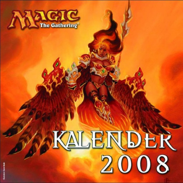 Magic: The Gathering - Wandkalender (2008)