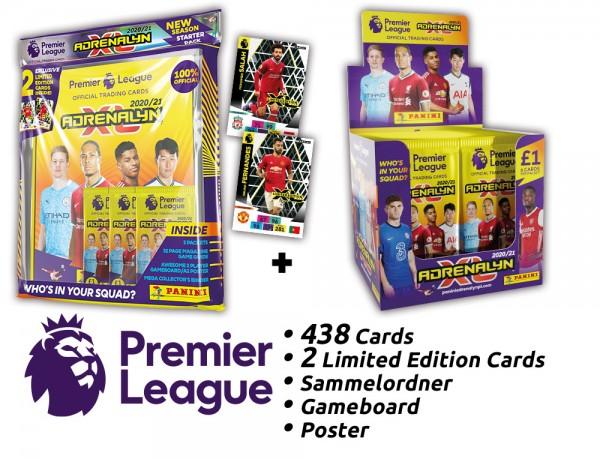 Panini Premier League Adrenalyn XL 2020/21 Kollektion – Box-Bundle