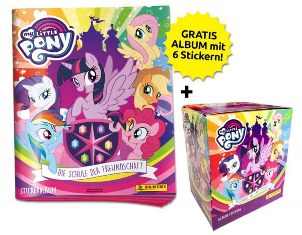 My Little Pony 2 Stickerkollektion - Sticker-Starter-Bundle