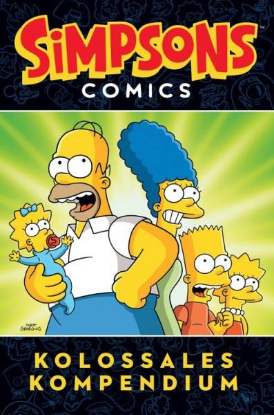 Simpsons Comics: Kolossales Kompendium 1