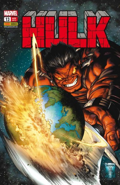 Hulk 13: Planet Red Hulk