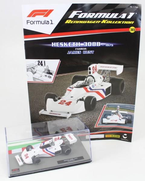 Formula 1 Rennwagen-Kollektion 38: James Hunt (Hesketh 308)