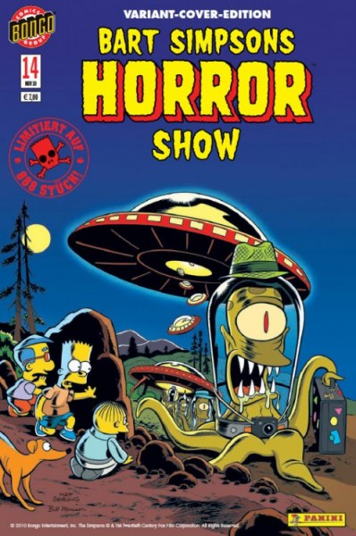 Bart Simpsons Horror Show 14 Variant
