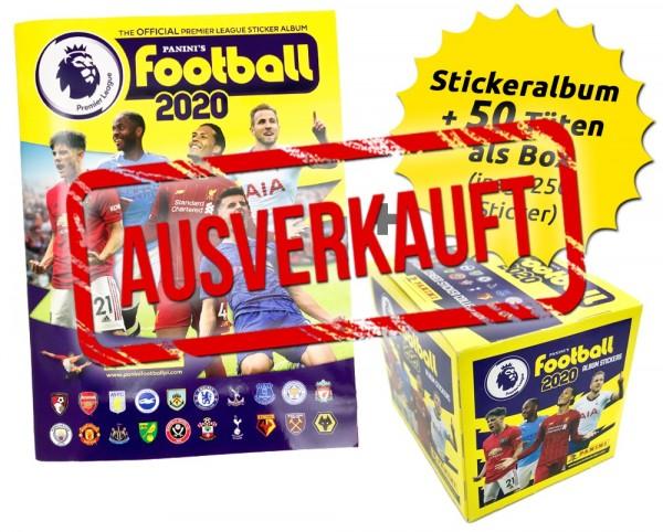 Premier League 2020 Stickerkollektion - Box-Bundle ausverkauft