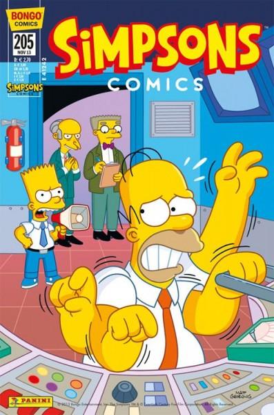 Simpsons Comics 205