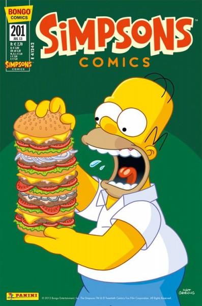 Simpsons Comics 201