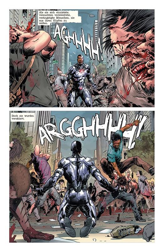 DC Horror – Der Zombie Virus Blick in den Comic