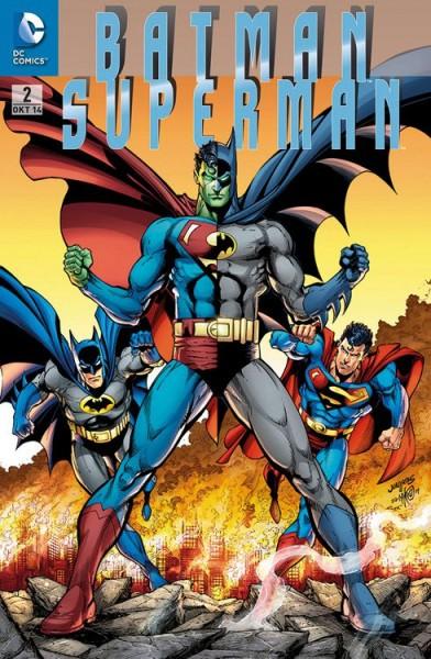 Batman/Superman 2 Variant (75 Jahre Batman) - Comic Action 2014