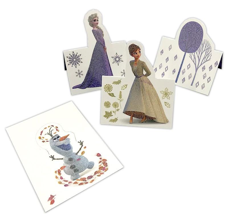 Die Eiskönigin 2 - Crystal Edition - Sticker und Cards - Pop Up Cards