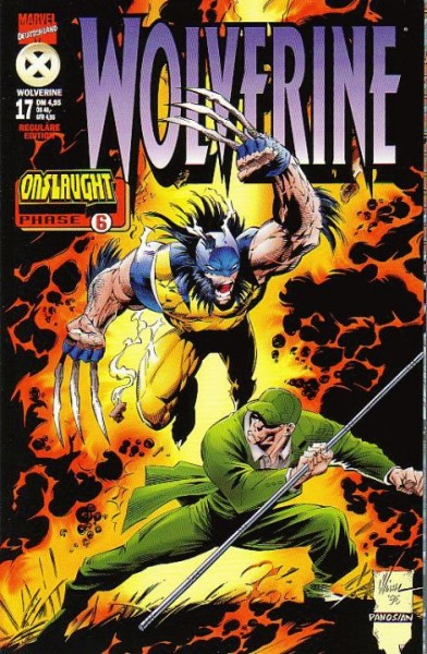 Wolverine 17: Onslaught Phase 6