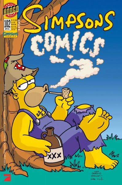 Simpsons Comics 102