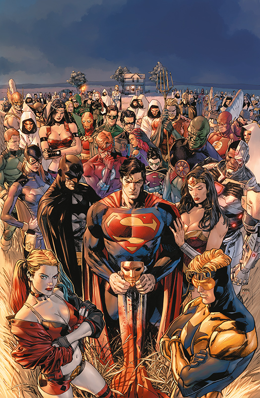 Heroes in Crises TP Hardcover