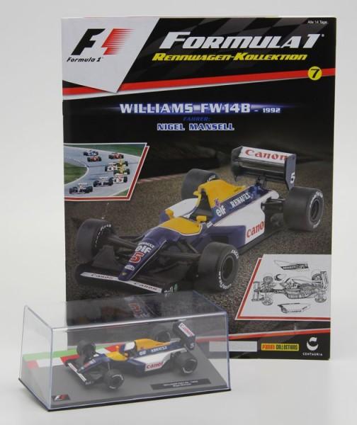 Formula 1 Rennwagen-Kollektion 7: Nigel Mansell (Williams FW 14B)