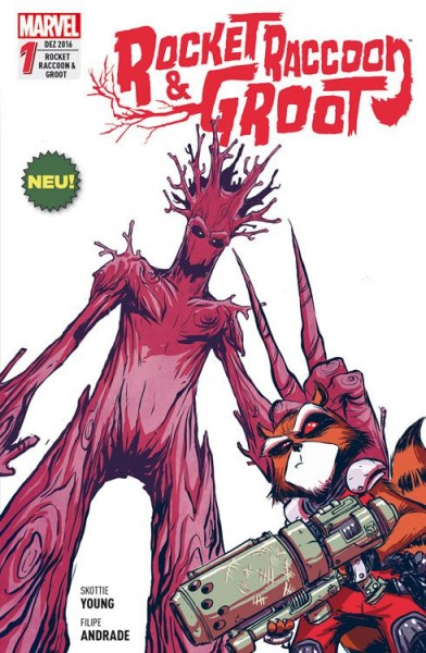 Rocket Raccoon & Groot 1