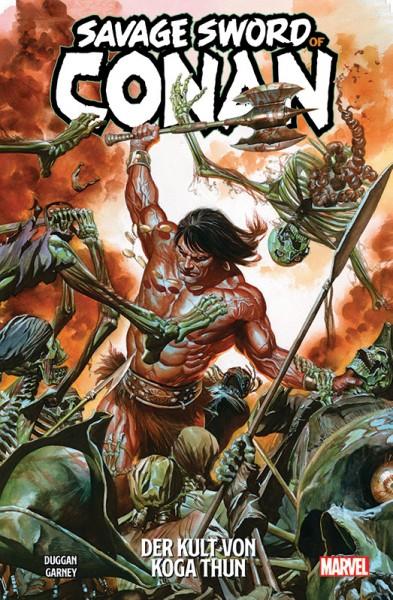 Savage Sword of Conan 1 Cover