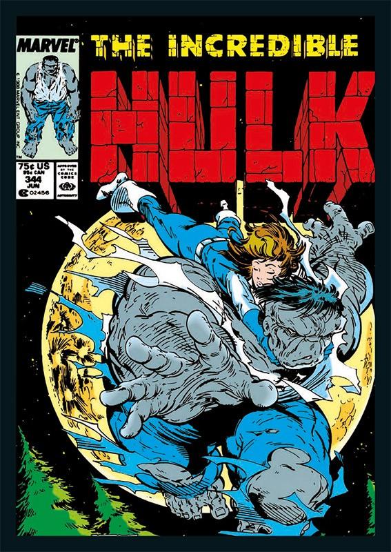 80 Jahre Marve Sticker und Cards Beispiel Sticker Hulk Cover