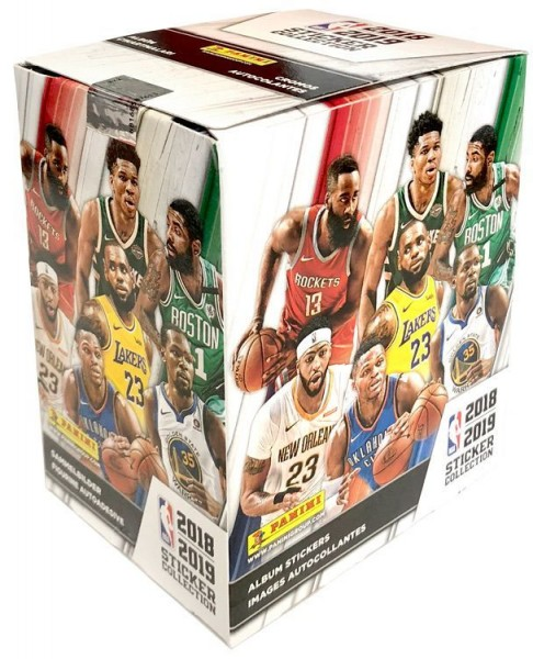NBA 2018-2019 Stickerkollektion - Box