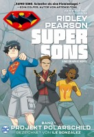 Super Sons 1: Projekt Polarschild Cover