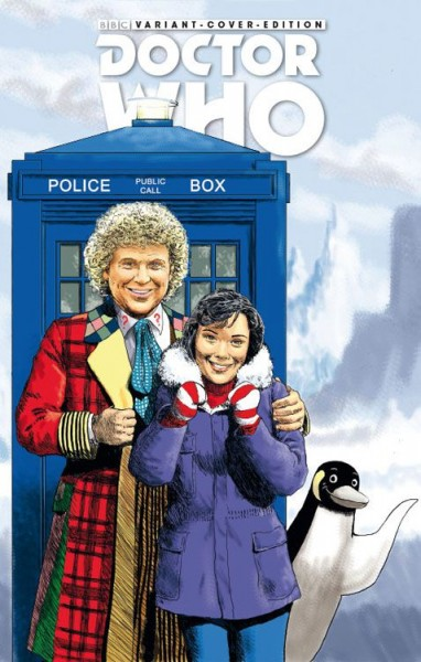 Doctor Who: Gefangene der Zeit 1 - Comic-Action Essen Variant