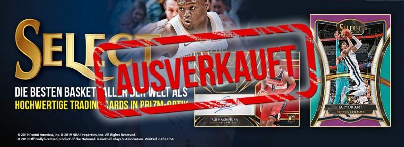 NBA Select - Die besten Basketballer der Welt als hochwertige Trading Cards in PRIZM-Optik