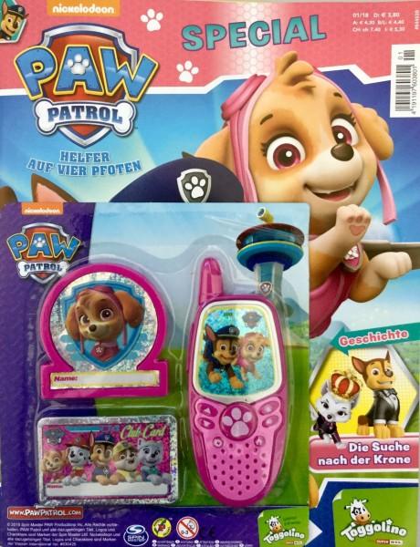 Paw Patrol Special 01/18