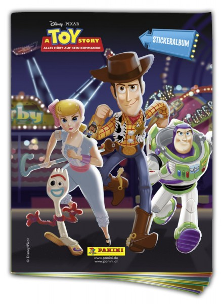 Disney Toy Story 4 - Sticker und Sammelkarten - Album
