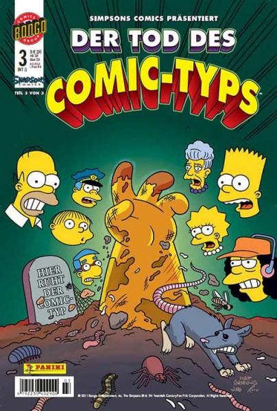 Simpsons Comics präsentiert: Der Tod des Comic-Typs 3