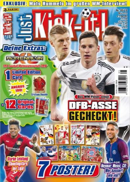 Just Kick-It! Magazin 05/18
